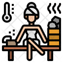 Sauna Room Stream Icon