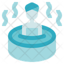 Alternative Medicine Sauna Spa Icon