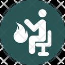 Sauna Steam Bath Steam Room Icon