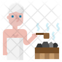 Sauna Spa Hot Icon