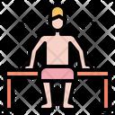 Sauna Hot Tub Icon