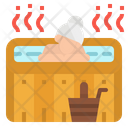 Sauna Spa Treatment Icon
