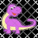 Saurischian Dinosaur Icon