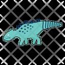 Saurischian Wild Dinosaur Icon