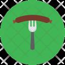 Sausage Barbecue Pork Icon