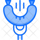 Sausage Fork Grill Icon