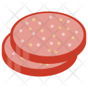 Sausage Meat Product Icon