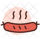 Sausage Meat Hot Dog Icon