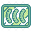 Sausage Meat Barbecue Icon