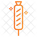 Sausage Meat Fastfood Icon