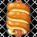 Sausage Bread Icon