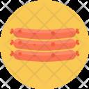 Sausage Nonveg Food Icon