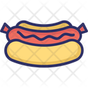 Sausages Packed Sausage Salami Icon