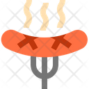 Food Sausages Barbecue Icon