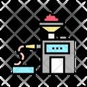 Sausages Production Color Icon