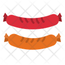 Sausages Salami Butcher Icon