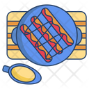 Sausages With Sauces Icon
