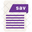 Sav file Icon