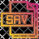 Sav File File Type Icon