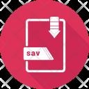 Sav file Icon