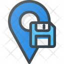 Save Pin Geolocation Icon