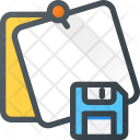 Save Task Message Icon