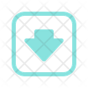 Save Down Arrow Icon