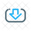 Save Import Download Icon