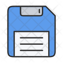 Save Backup Diskette Icon