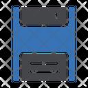 Floppy Diskette Storage Icon