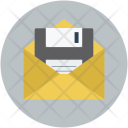 Save Mail Email Icon