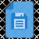 Save Diskette Sheet Icon