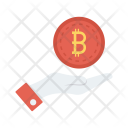 Save bitcoin Icon