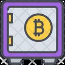 Bitcoin Protect Protection Icon