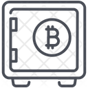 Bitcoin Protect Protection Icon