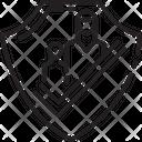 Refugee Save Safe Icon