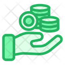Save Coins Icon