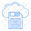 Cloud Server Save Icon