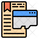 Save Document Email Icon