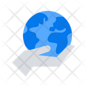 Earth Care Planet Icon