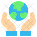 Save Earth World Icon