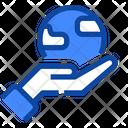 Hand Globe Environment Icon