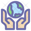 Earth Planet Global Icon