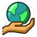 Save Earth Planet Icon