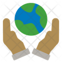 Earth Ecology Save Icon