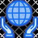 Save Earth Save Global Save World Icon