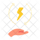 Energy Save Power Icon