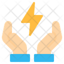 Save Energy Thunderbolt Icon