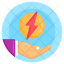 Save Power Save Energy Power Protection Icon