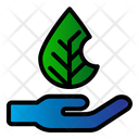 Hand Nature Plant Icon